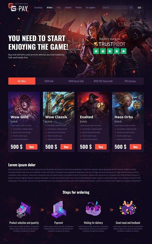 Screenshot GG-Pay